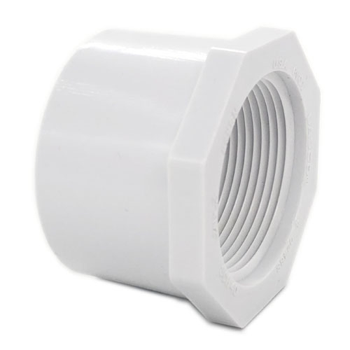 "PVC40 REDUCED BUSHING 1-1/2"" SLIP X FPT"