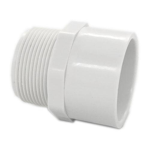 """PVC40 ADAPTOR 1-1/4"""" MPT X SLIP"""