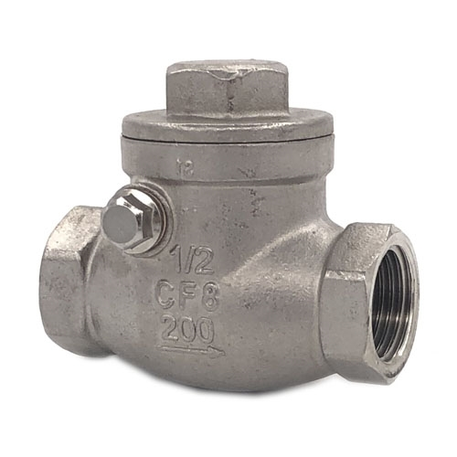SWING CHECK VALVE IN STAINLESS STEEL