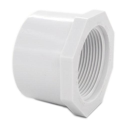 "PVC40 REDUCED BUSHING 1-1/4"" SLIP X FPT"
