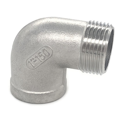 STAINLESS STEEL ELBOW 90 DEGREES MPT X FPT